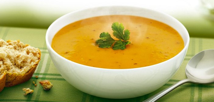 Tasty Carrot and Coriander Soup