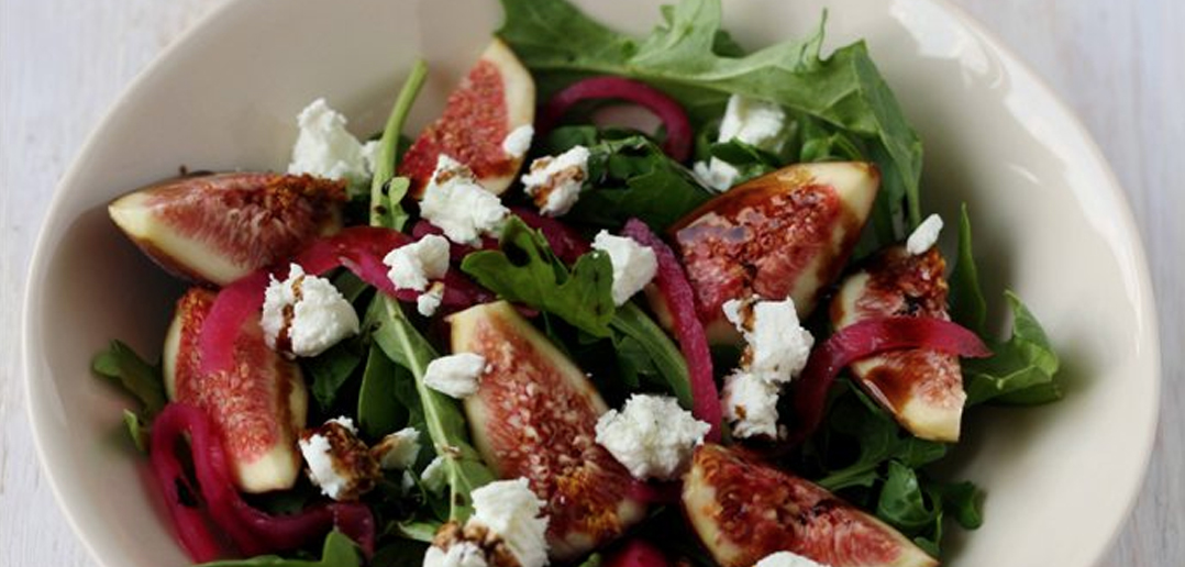Fig Salad Rocket Goat's Cheese Honey