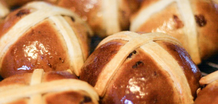 Freshly Baked Hot Cross Buns