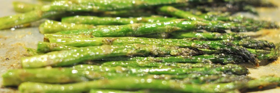 Freshly Seared Asparagus
