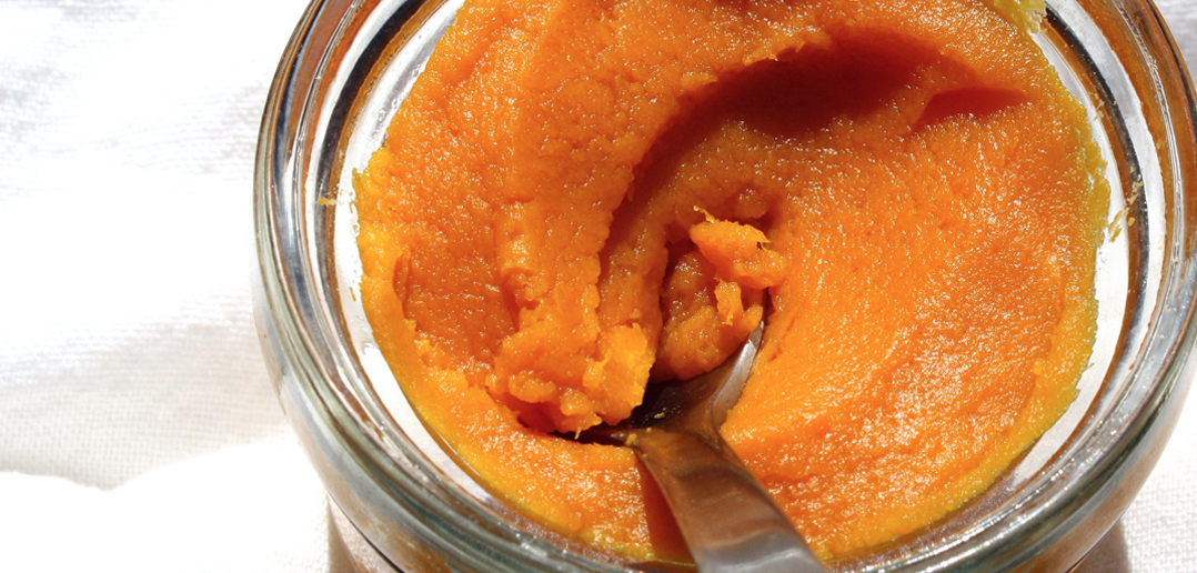 Jar of Pumpkin Puree