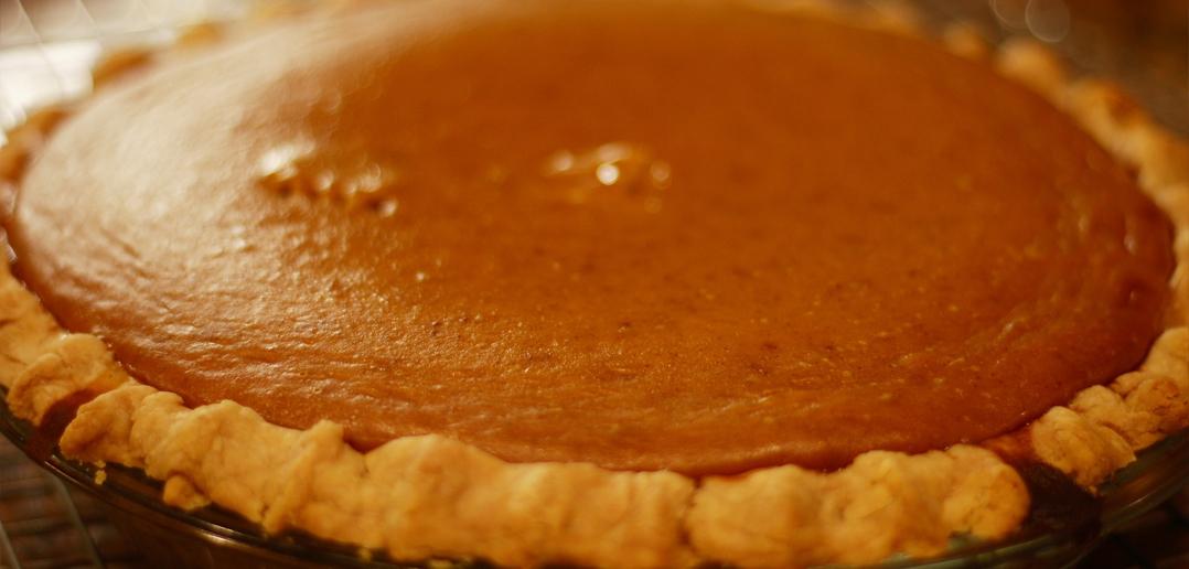 Freshly Baked Pumpkin Pie