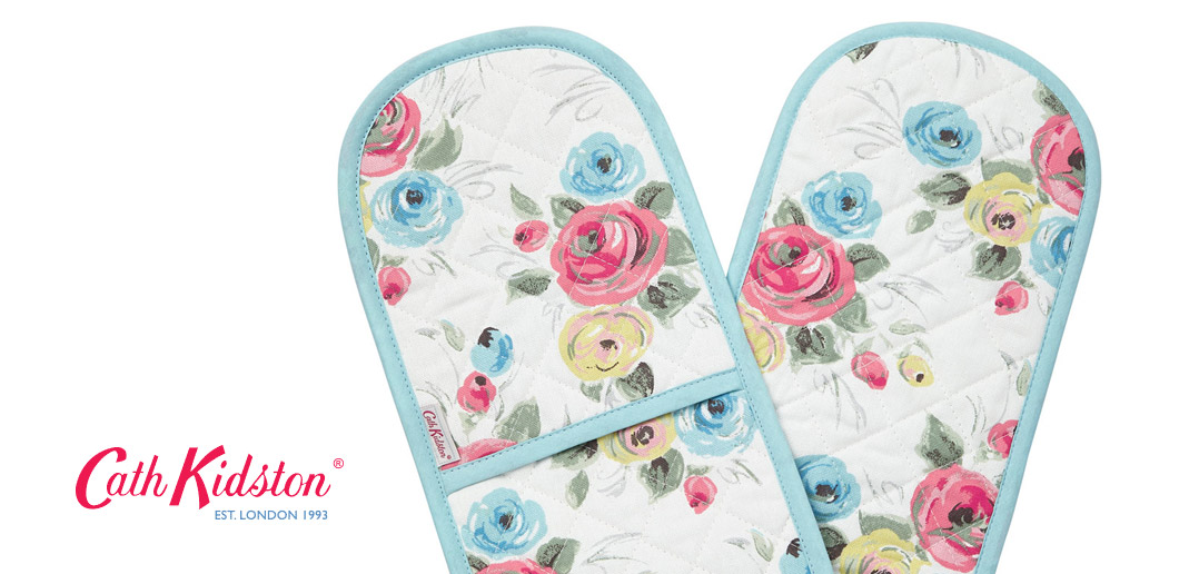 Floral Cath Kidson Oven Gloves