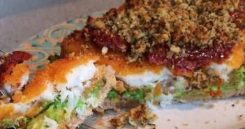 Tasty Fish Finger Sandwich