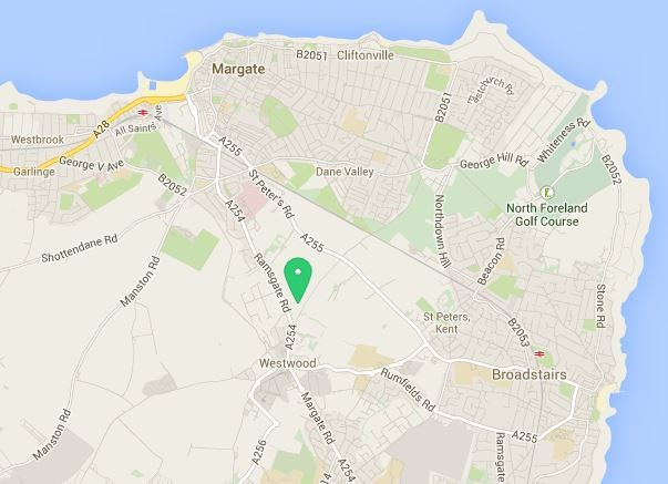 Map Of Wren Kitchens Thanet Store Location