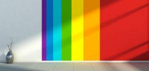 Multi-coloured Wall
