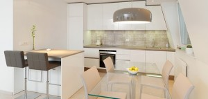 Kitchen Styled in Silent Revolution Colour Future