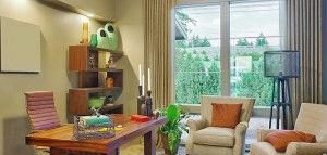 Colourful Urban Living Room