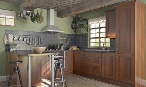 Rustic Wood Wren Kitchen