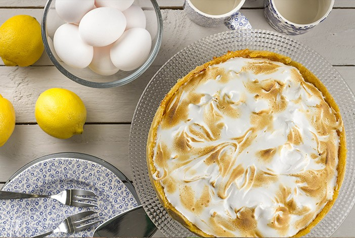 Lemon Meringue Pie and Ingredients