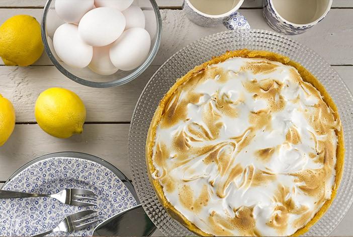 Lemon Meringue Pie and Ingredients
