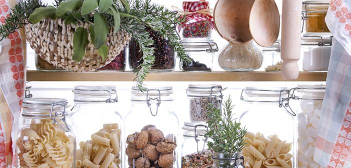 Kitchen Pantry Storage Jars