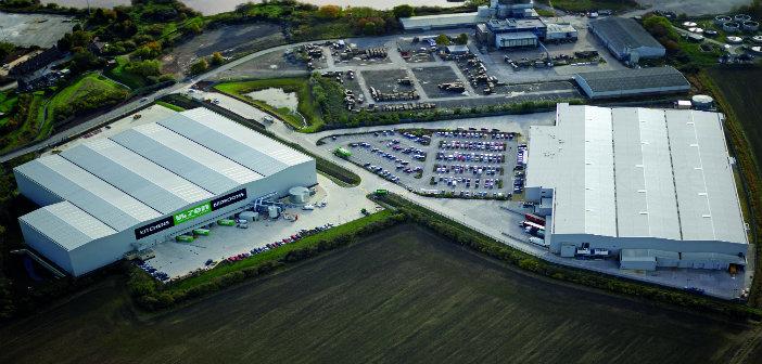 Aerial Shot Wren Kitchens Howden Factory