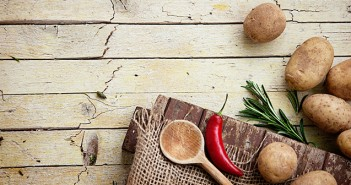 Cooking Utensils on Wood Table