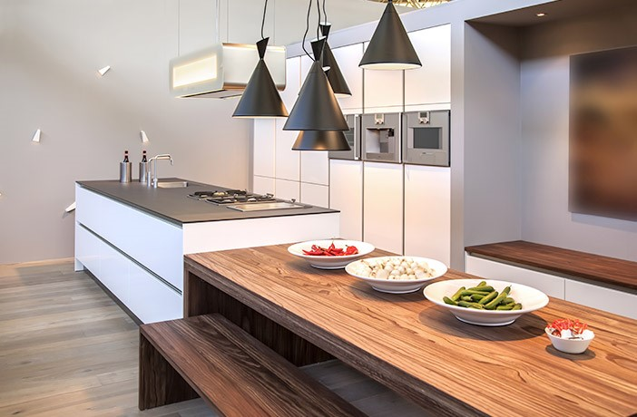 Industrial Kitchen Design Pendant Lighting