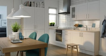 White Shaker Kitchen in White