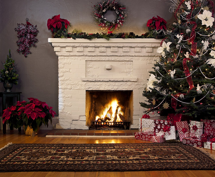 Quirky Christmas Living Room Decorations