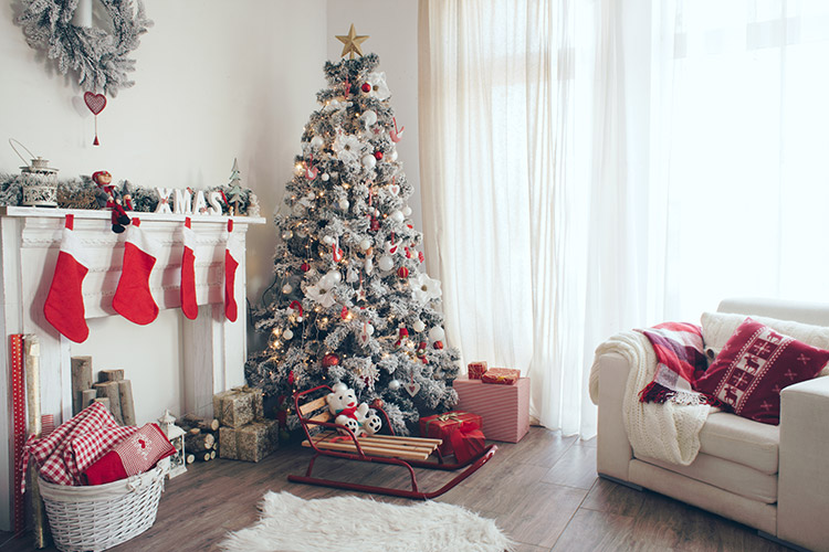 Nordic Themed Christmas Home Decorations