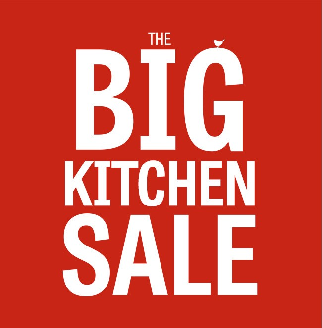The Big Kitchen Sale Logo