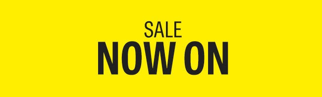 Kitchen Sale Now On Logo In Yellow