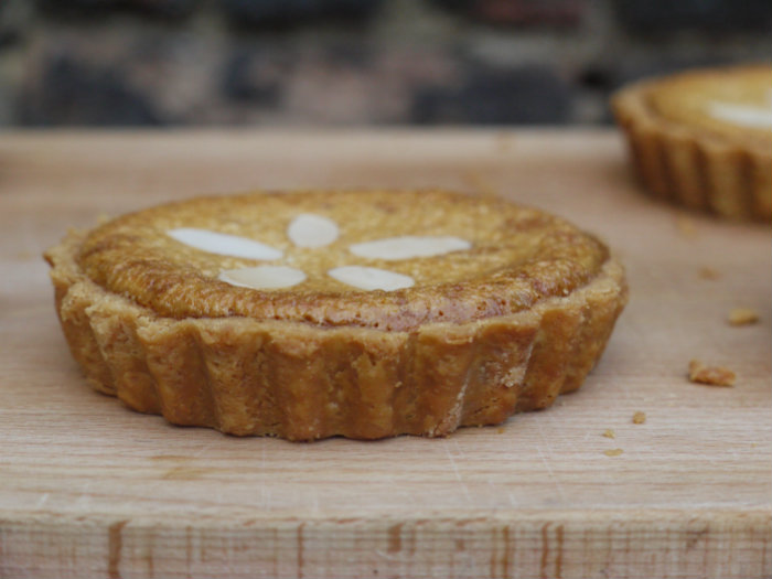 Delicious Almond Treacle Tart