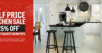 Half Price Kitchen Sale Advert
