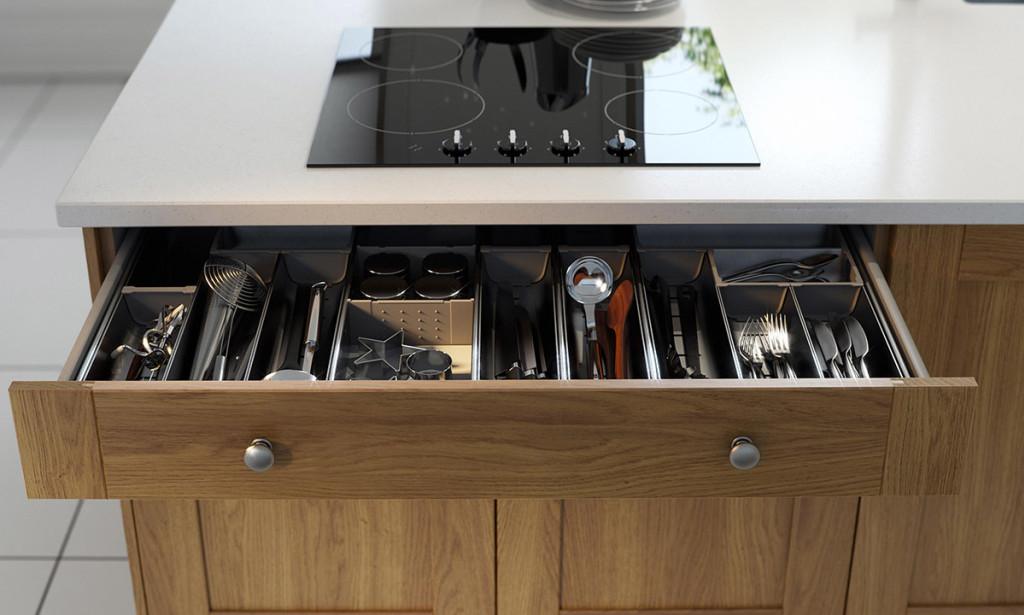 Drawer Dividers Kitchen Storage Solution