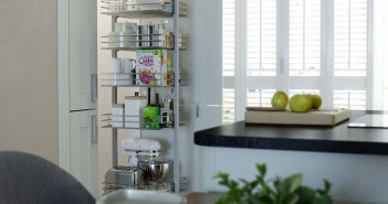 Pull Out Larder Kitchen Storage