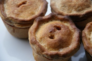 Christmas Chestnut Apple Pork Pies