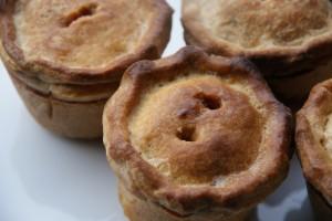 Christmas Chestnut Apple Pork Pies