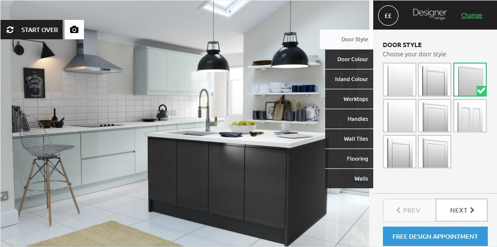 Our new online kitchen design tool prize draw wren How do you design a kitchen