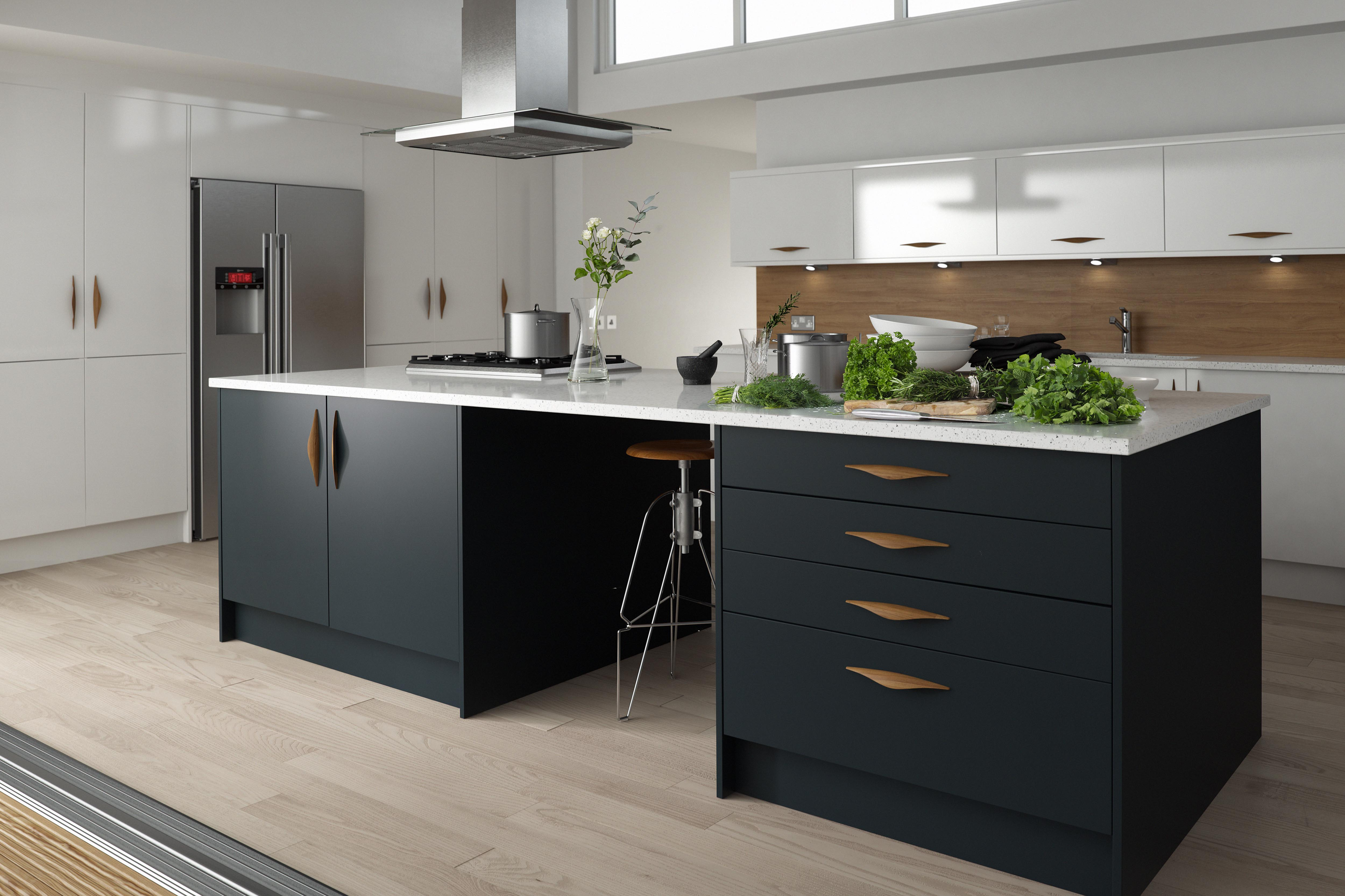 50 Shades Of Grey Sultry Kitchen Design Wren Kitchens Blog