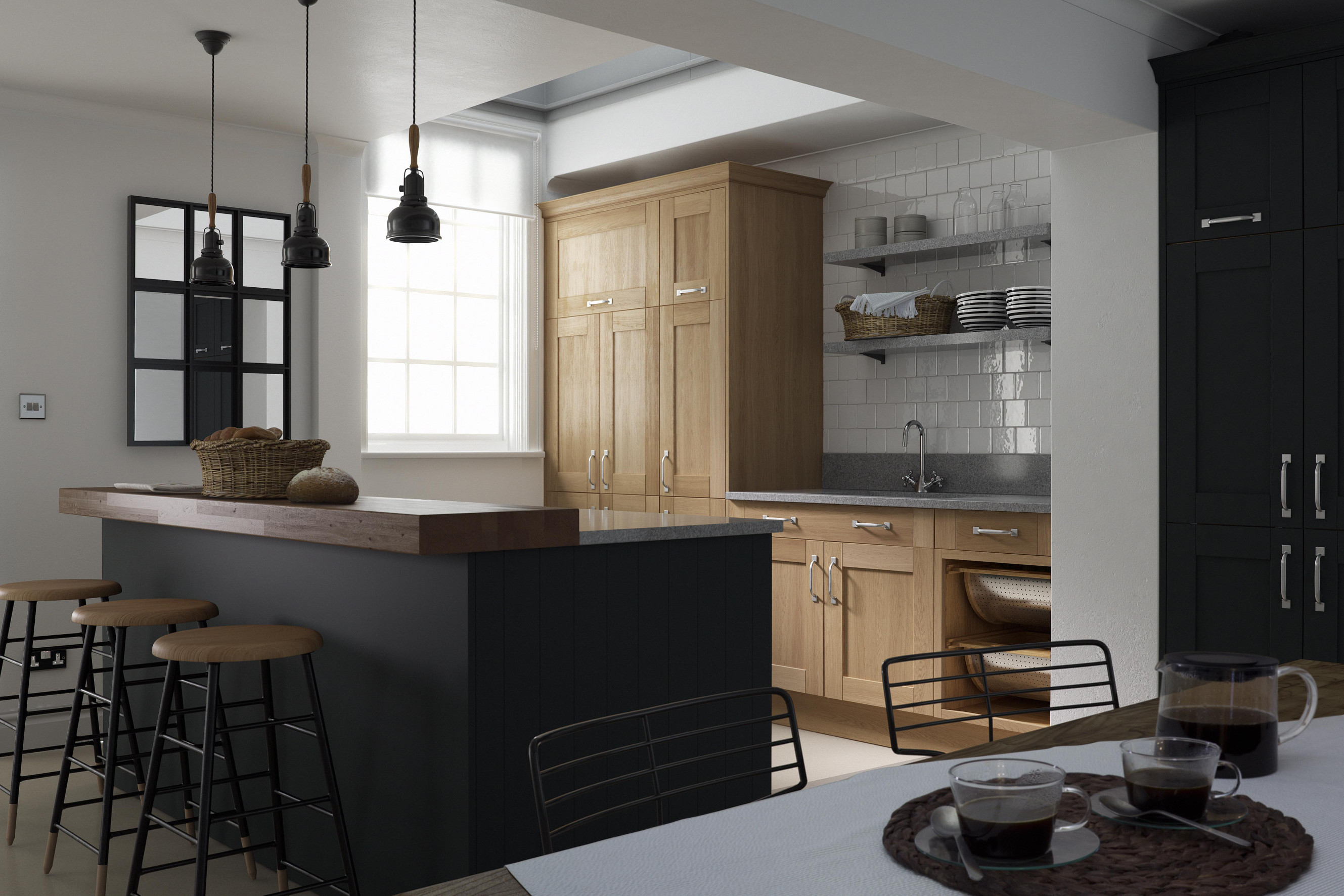 50 shades of grey sultry kitchen design wren kitchens blog On linda barker kitchens