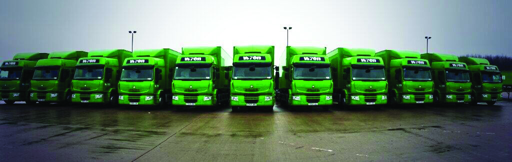 Big Fleet Wren Lorries