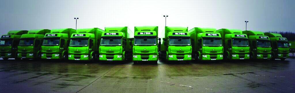 Big Fleet Wren Lorries