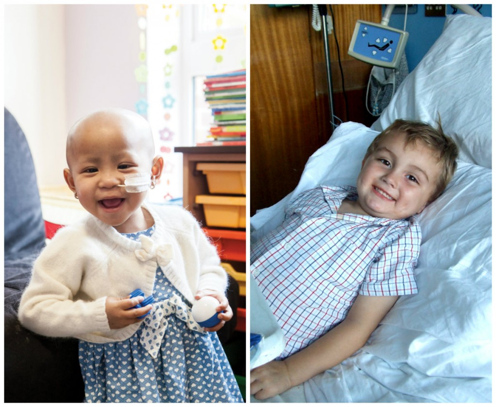 CLIC Sargent Help Cassey and Quinn