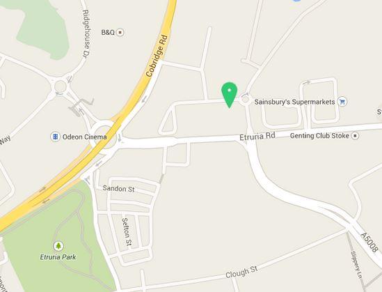 Wren Stoke Showroom Octagon Retail Park Map