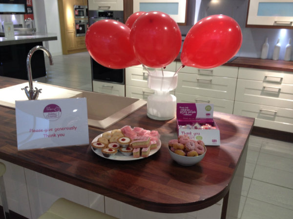 Valentines Display Dundee Showroom