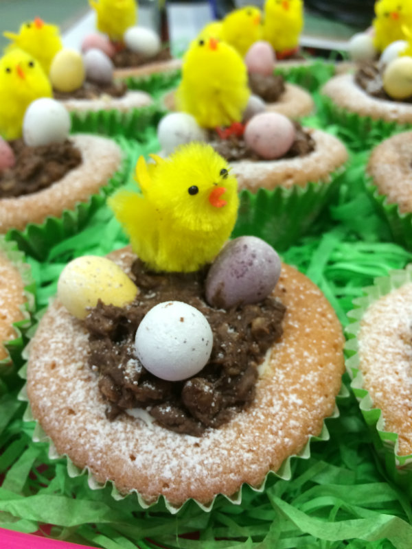 Angry Birds' Cupcakes