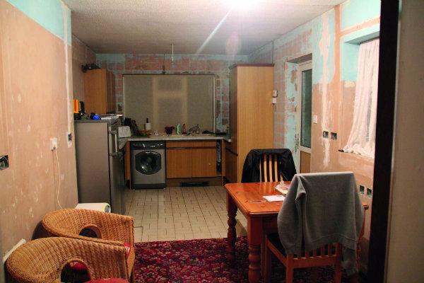 Customer Kitchen Case Study Before Renovation