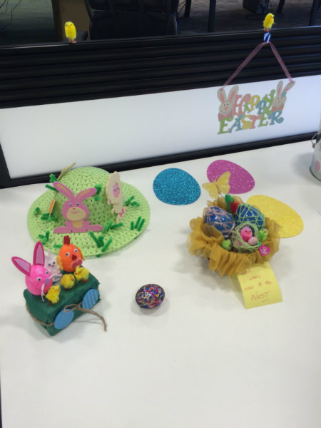 Wren Charity Decorate An Egg Competition