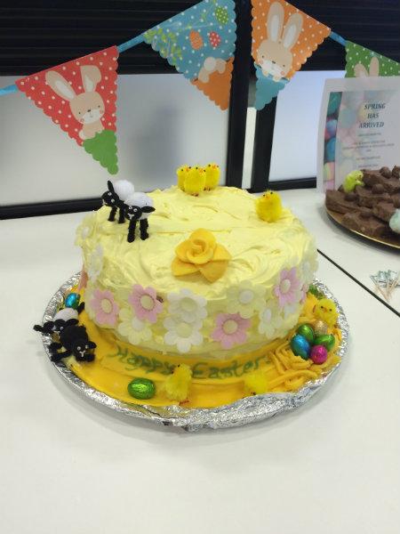 Wren Kitchens Easter Cake Sale Fundraiser