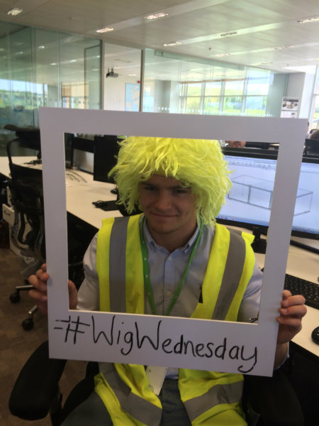 Henry Joining Wig Wednesday at Wren