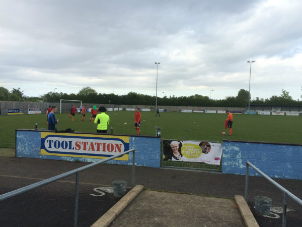 WRen Kitchens Warm Up Charity Football Match