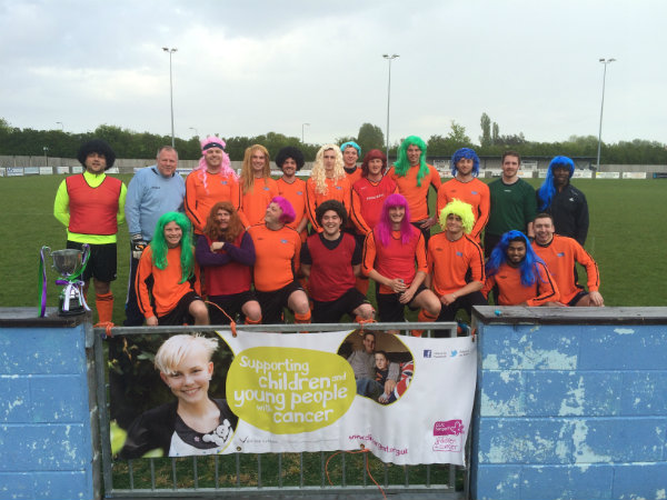 Wren Kitchens Barton Town Charity Football CLIC Sargent