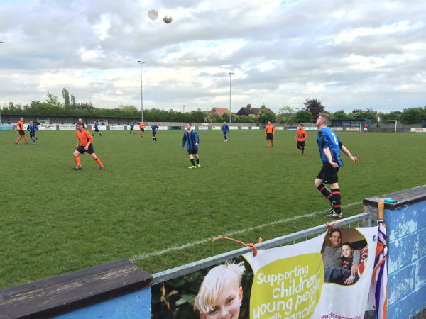Wren Kitchens Playing Charity Football