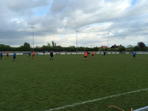 Wren Kitchens Playing Football Match for CLIC Sargent