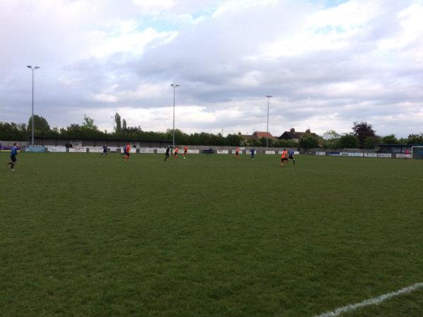 Wren Kitchens Football Team Play Charity Football Match