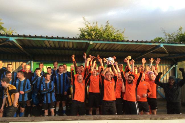 Wren Barton Office Win Charity Football Cup