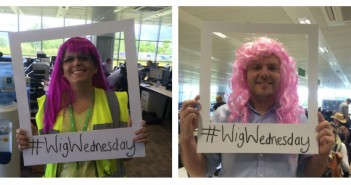 Wren Kitchens Celebrate Wig Wednesday